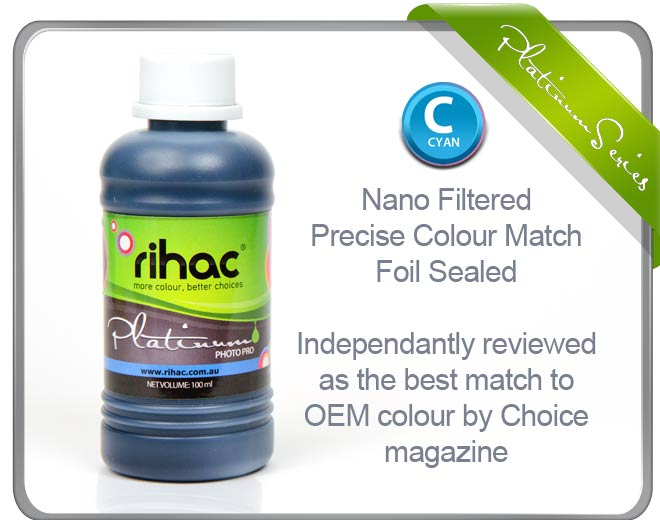 100ml Cyan ink 29 & 29XL compatible